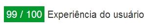 Experiência do usuário: PageSpeed Insights