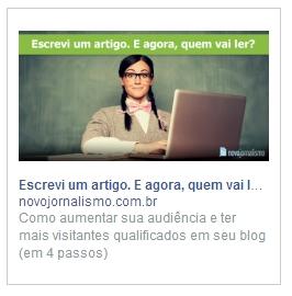 Facebook Ads: Sidebar