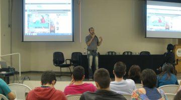 Palestra de Mattheus Rocha na Semana de Jornalismo ASI/Uniso