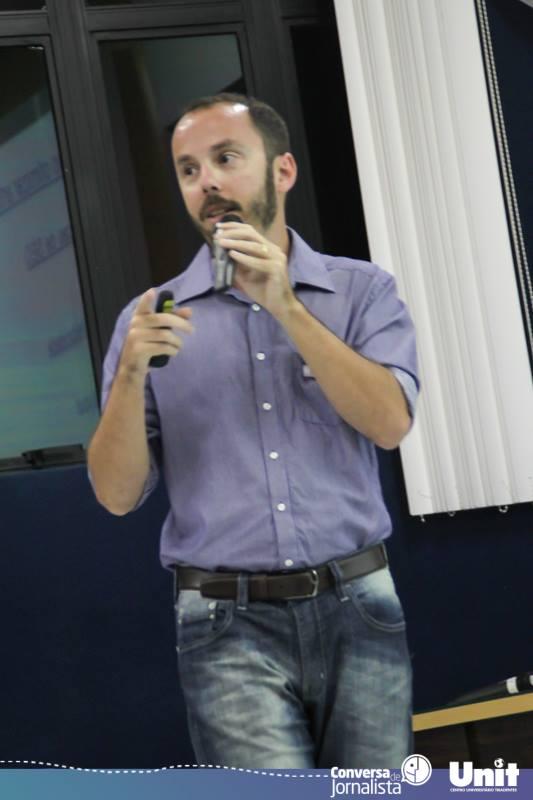 Palestra de Mattheus Rocha no Conversa de Jornalista 2015