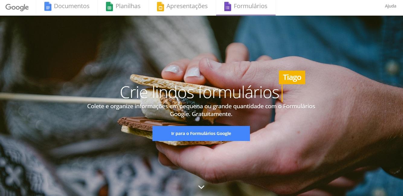 Como produzir conteúdo de qualidade para lojas virtuais - Google Forms