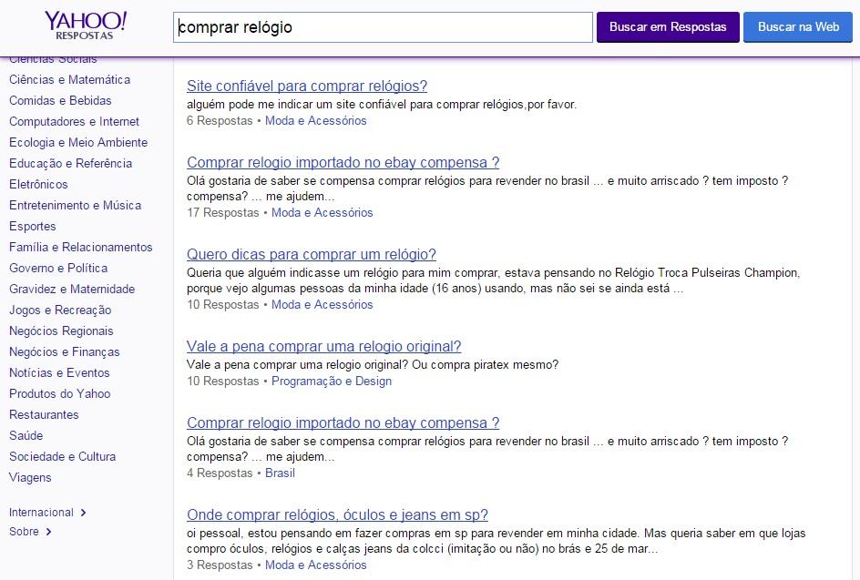 Como produzir conteúdo de qualidade para lojas virtuais - Yahoo! Respostas