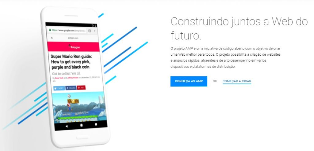 Projeto AMP (Accelerated Mobile Pages)